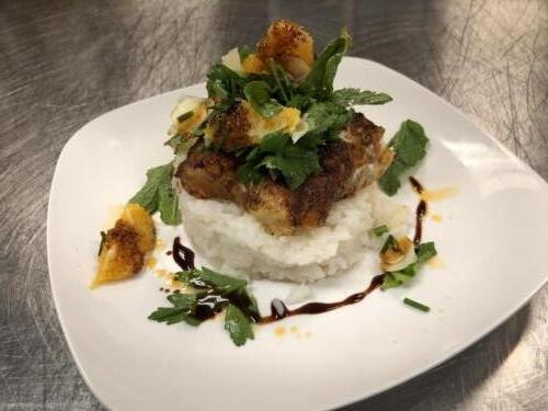 Swordfish Dish